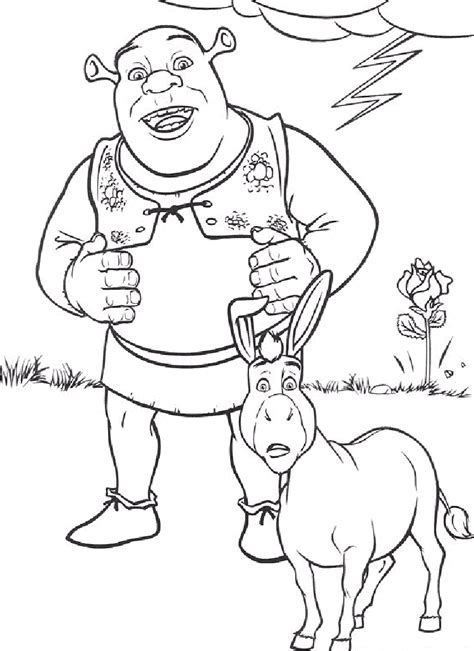 Shrek Coloring Pages Coloring Pages To Print Shrek Coloring Pages