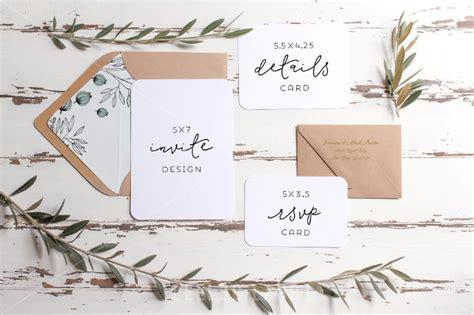 wedding invitation suite mockup 35 greeting card invitation mockup psd templates 2017