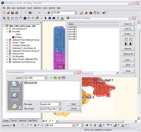 layout view arcscene esri arcwatch september 2008 better bookmarks in 9 3
