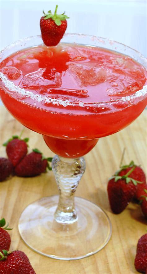 strawberry margarita sweet life