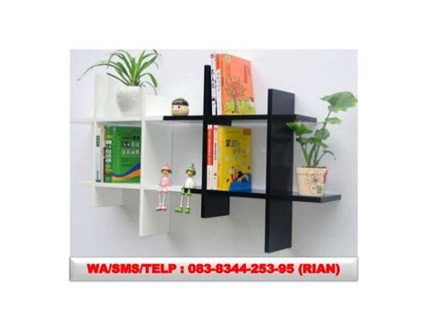 Jual Rak Buku Dinding Di Surabaya 083834425395 jual rak dinding minimalis di surabaya rak