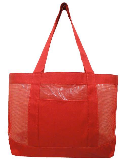 mesh tote bag fashion mesh tote bag