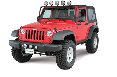 jeep wrangler light bar kc hilites 7417 windshield mount light bar for 07 18 jeep