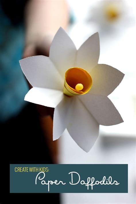 How To Make Paper Daffodils - paper daffodil wreath pars caeli