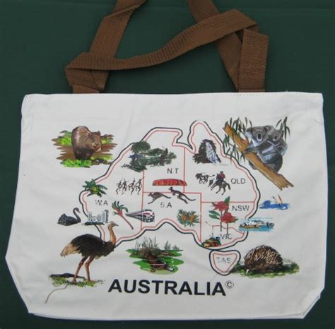 popular christmas gift australian canvas bag
