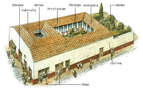 Roman Insula Floor Plan by Tabernae