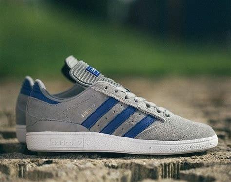 Sepatu Adidas Daily Suede Blueblack Premium adidas skateboarding busenitz grey blue mens fashion