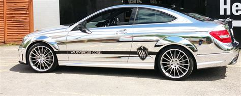 Verchromtes Auto by Chrome Vehicle Wraps By Wrapvehicles Co Uk