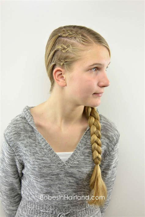 easy edgy braided style teen style babes  hairland