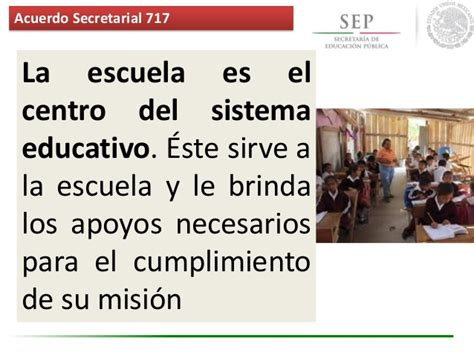 sep dgespe sistema para el fortalecimiento de la acuerdo 717