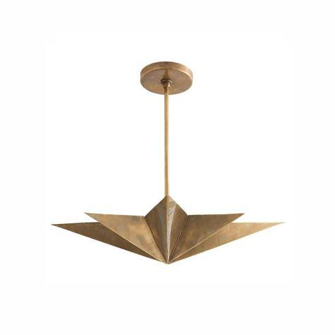 moravian gold glass pendant