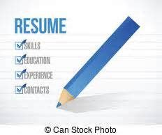 Resume Clip by Resume Clipart 19