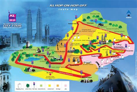 kuala lumpur hop  hop  bus   degree city