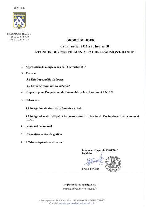 lordre du jour un 9782330081171 mairie de beaumont hague 187 blog archive 187 ordre du jour de la r 233 union de conseil municipal du 19