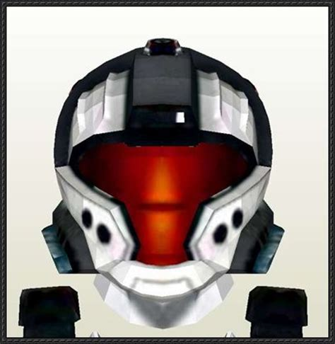 Papercraft Halo Helmet - papercraftsquare new paper model halo 3 odst