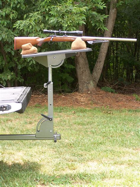 gun bench receiver mounted shooting bench ar15 com