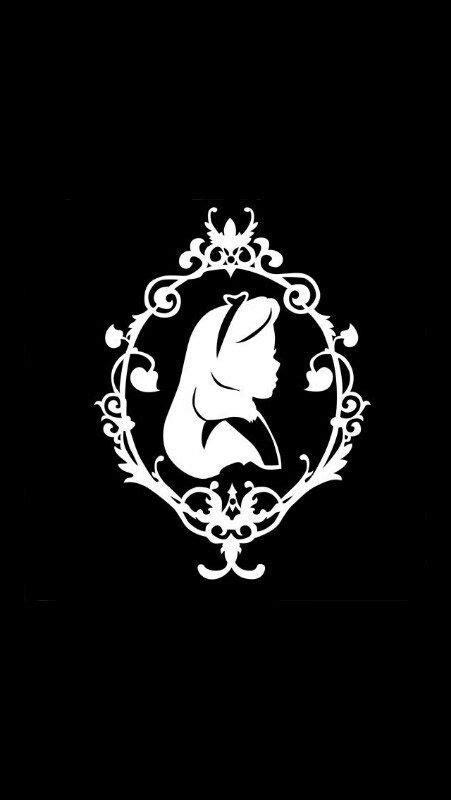 silhouette tattoo paper uk 사용자첨부이미지 배경화면 pinterest alice silhouette and paper