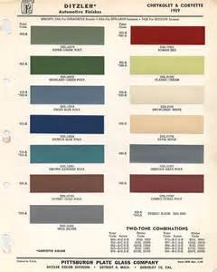 1959 chevrolet paint chips xframechevy