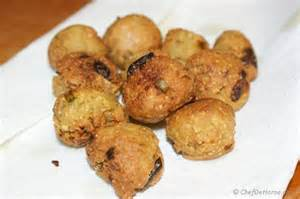 Recipe Of Lotus Stem Lotus Root Fritters Recipe Chefdehome