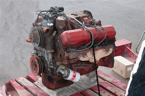 engine  international scout parts scout ii