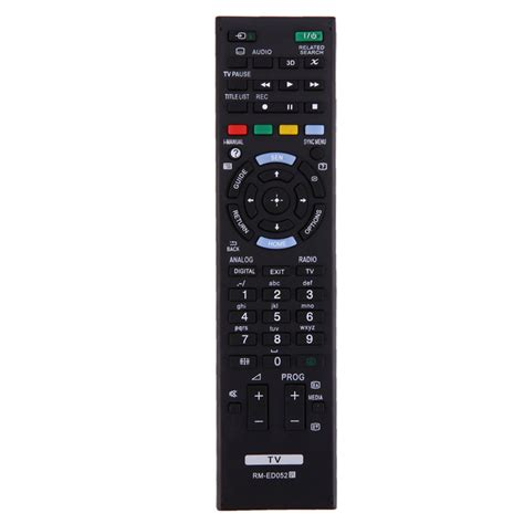 Remote Tv Universal Lg Tabunglcdled universal tv remote replacement black smart television remote for sony tv rm