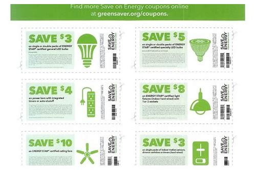 save on energy coupons