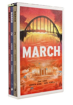 march trilogy slipcase set march top shelf productions