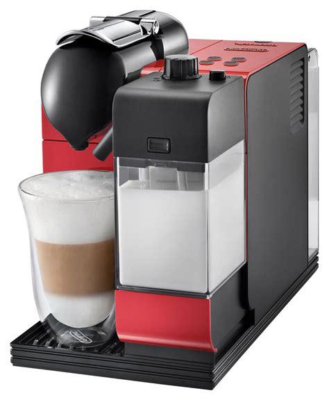 Nespresso Lattissima Plus Machine Black delonghi nespresso lattissima plus espresso maker en520r best buy