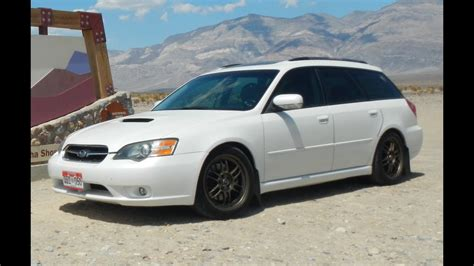 modified subaru legacy modified 2005 subaru legacy gt wagon one take youtube