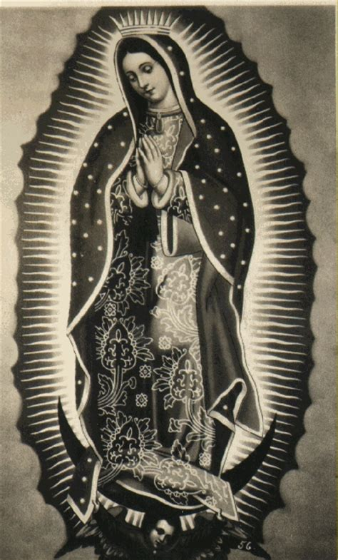 guadalupe tattoo design image result for virgen de guadalupe images black and