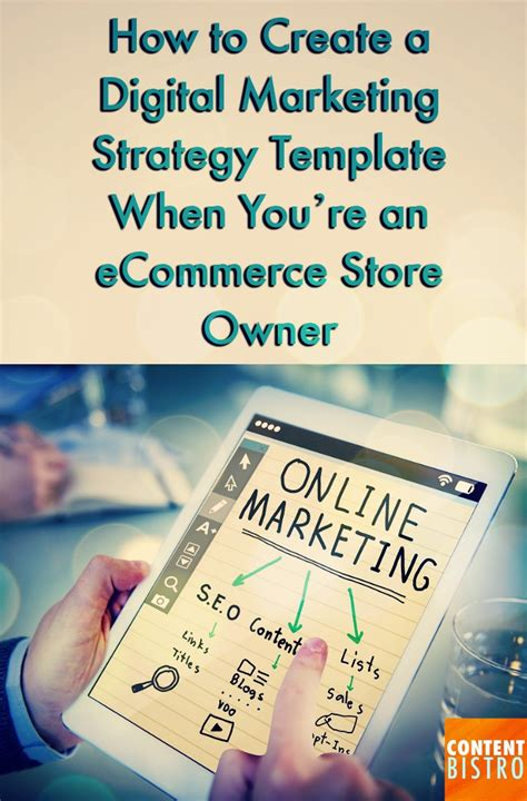 ecommerce marketing strategy template the incredibly powerful digital marketing strategy