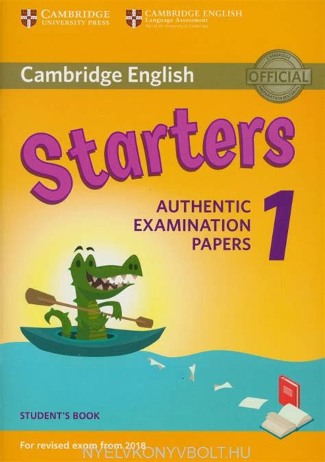 cambridge english starters  students book  revised
