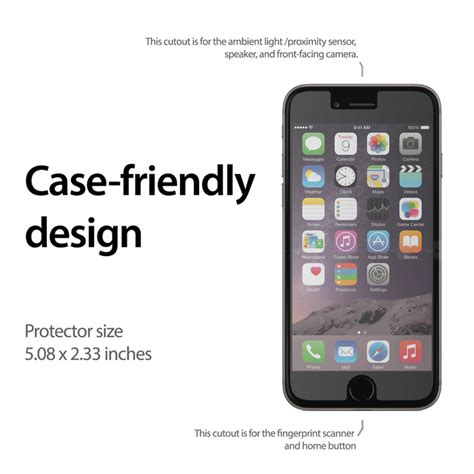 Iphone 6 Screen Guard Pro Glass Tempered Glass Iphone 6 47 jual pro glass premium tempered glass for iphone 6 pro