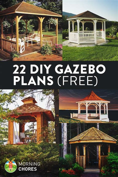 gazebo tutorial 22 free diy gazebo plans ideas to build with step by