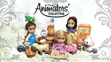 Mini Be Disney White disney animators mini doll playset rapunzel snow