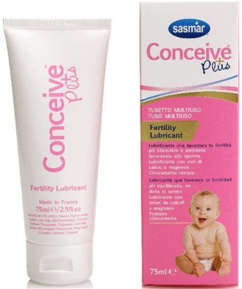 gel lubrificante interno lubrificante per la fertilita conceive plus per uso