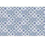White And Blue Portuguese Tiled Wallpaper  Murals
