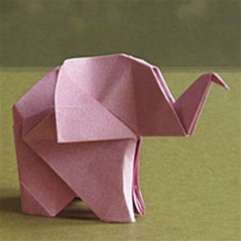 Easy Elephant Origami - 25 easy origami ideas for bigger origami ideas