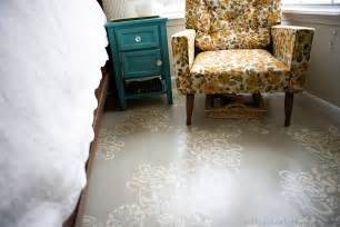 painting floor refresheddesigns green idea diy painted floors