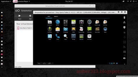 android emulator linux cara install genymotion emulator android di kali linux 2 0 anherr s
