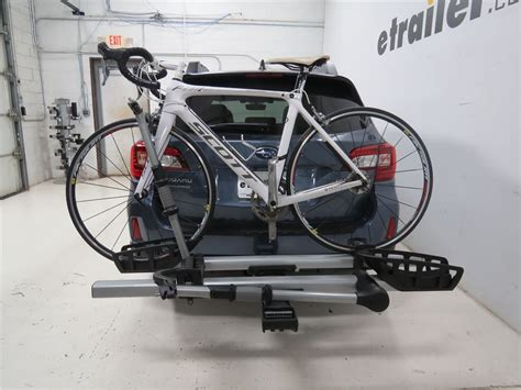 Subaru Hitch Bike Rack by 2015 Subaru Outback Wagon Thule T2 Pro 2 Bike Platform
