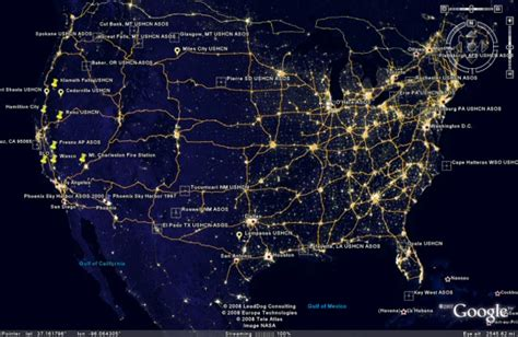 light pollution map earth nasa light pollution map page 3 pics about space