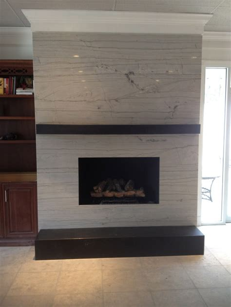 Fireplace With No Mantle by Modern Fireplace