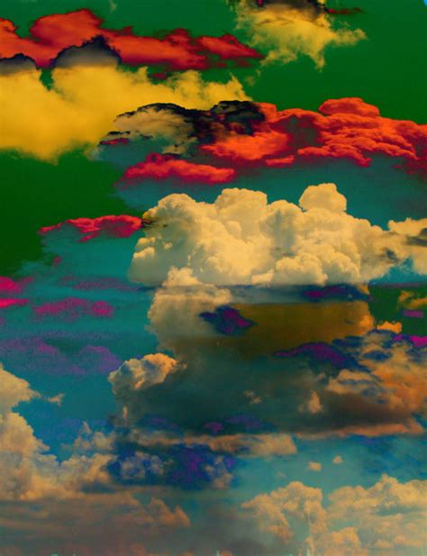 colorful clouds colorful clouds on