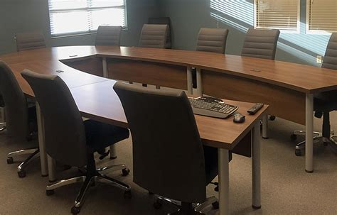 U Shaped Conference Table Project U Shaped Conference Table With Leather Conference Chairs
