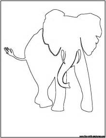 animal outlines elephant outline animals