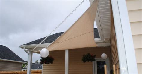 i love love love this idea of using a painters drop cloth for shade cost next to nothing