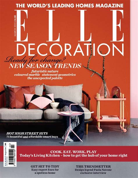 decoration magazine featured in elle decor magazine lisa jarvis
