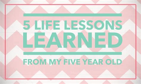 5 Lessons Learned Companies by 5 Lessons Learned From My Five Year Intentional
