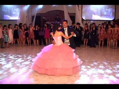 bailando el vals de quince a os quinceaneras waltz daniela xv a 241 os baile con su papa youtube